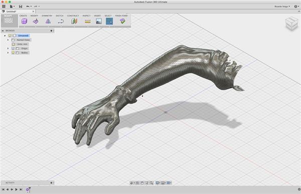 Xkelet Órtese usa Impressora 3D