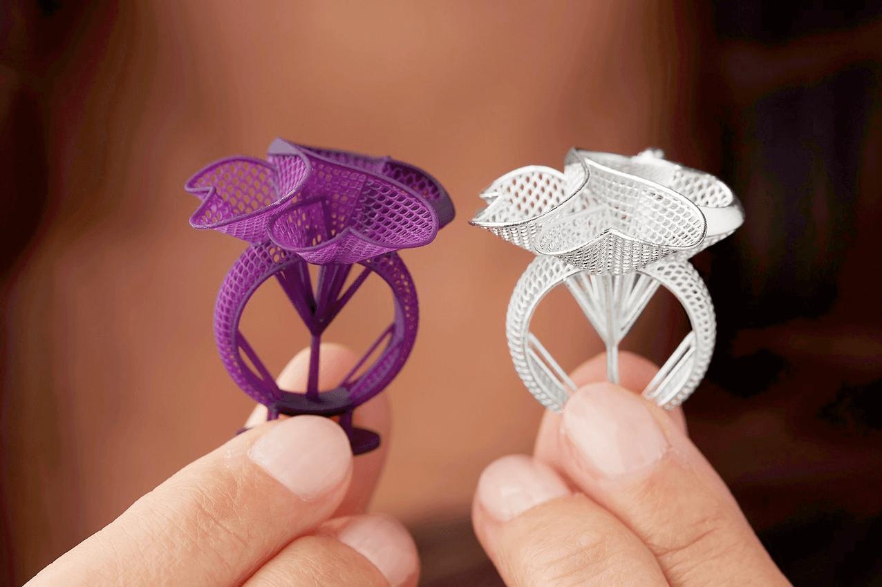 Como a Impressão 3D está revolucionando a indústria de jóias